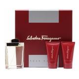 Perfume Salvatore Ferragamo Pour Homme Men's  Set (3 Pieces)