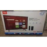 Smart Roku Tv  43 Pulgadas Class Led  1080p 4k