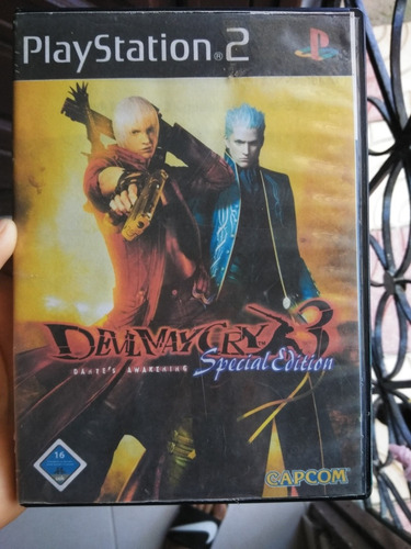 Devil Maycry 3 Special Edition Ps2