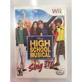 High School Musical Wii