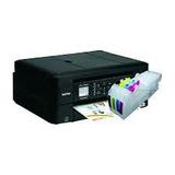Impresora Brother Mfc 480 Con Sistema De Tinta Full De.tinta