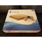 Sony Playstation 4 Slim Edición Limitada 1tb Consola De Oro