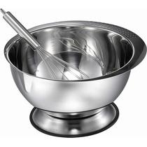 Tazón De Mezcla De Acero Inoxidable Pro Chef Kitchen 3,5