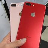 Iphone 7 Plus 256 Gb Rojo Negro Gol 12 Meses De Garantía