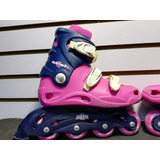 Patines Rosados Lineales Size 35