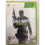 Call Of Duty Mw3 Xbox360