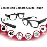 Lentes Con Cámara Oculta 1080p Full Hd Touch Espía
