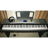 Piano Yamaha Dgx-530 Usb 88teclas Musik Producción 6canales