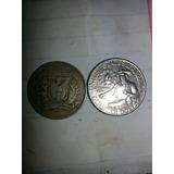 Vendo 42  Monedas Antiguas Dominicanas Y De Los Estados Uni