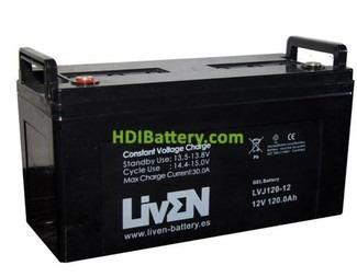 Baterias De Gelatina 12 Vol. 120 Amp. Liven.
