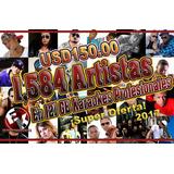 1,584 Artistas En 121 Gb Karaokes Profesionales