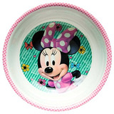 Zak Designs Mmnd0361b Minnie Boutique Mel Bowl Wrim Multicol