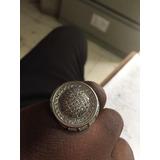 Anillo De Plata Con Diamante 925