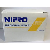Agujas Hipodermicas 30 G X 1/2 Nipro / Mesoterapia Caja