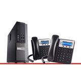 Central Telefonica Ip / Servidor / Instalacion / Servicio