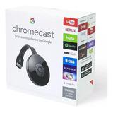 Chromecast Google Original 2da Gen / Convertir Tv A Smart Tv