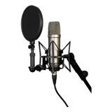 Microfono Profesional De Estudio Con Condensador /soy Tienda