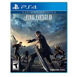 Final Fantasy Xv Juego Para Playstation 4 Ps4