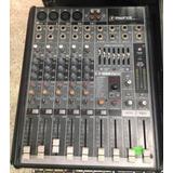 Consola Mackie Usb 8 Canales Mixer Con Efectos