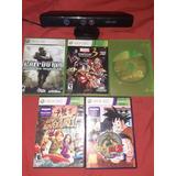 Kinect + 5 Juegos Xbox 360