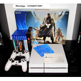 Sony Playstation 4 - 500 Gb - Glacier White - Includes Desti