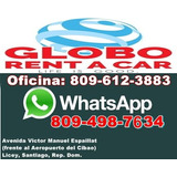 Globo, Rent, A Car, Alquiler, Vehículos, Santiago, Rep. Dom