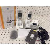Telefonos Rescidencial Inalambricos At&t 2 Estaciones