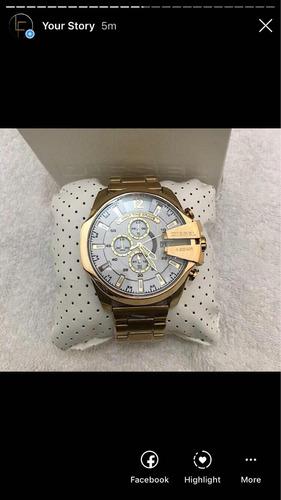 Reloj Diesel Megachief Blanco