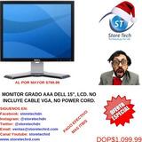 Monitor Grado Aaa Dell 15'', Lcd. No Incluyes Cable Vga, No