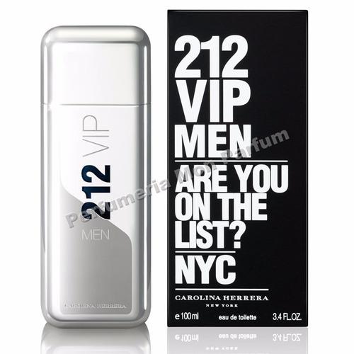 Perfume 212 Vip Men By Carolina Herrera. Entrega Inmediata