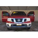 Nissan Frontier Rojo 2010