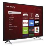 Tcl Roku Smart Tv 49 4k Pulgadas Nuevas Selladas Tienda