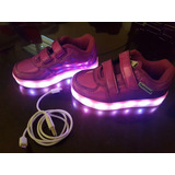 Zapatos Luces Led Niña