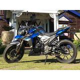 Tauro 300, Azul Y Gris