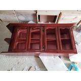 Gabinetes Color Caoba De 3 Y 4 Puertas