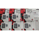 Tarjeta  Memoria Microsd 16gb Kingston Con Adaptador Sd