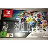 Nintendo Switch Super Smash Y Pokemon Nuevos + 3 Juegos