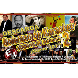 Bolerazo De Karaokes 2 Cdg+mp3