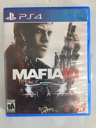 Mafiaiii Ps4