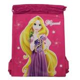 Mochila Con Cordón Rosa De Rapunzel Mochila Con Cordón Para