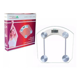 Balanza Personal Bascula Digital Pesa Bateria/termom Gratis