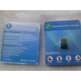 Transmisor/receptor Bluetooth Usb 4.0 Para Pc , Laptop