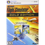 Flight Simulator X Gold Edition Base + Expansion Digital Pc