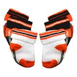 Harleydavidson Bebes Varones Calcetines Tres Pack Naranjabla