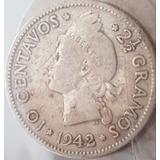 Moneda De 10 Centavos 1942 Rd.