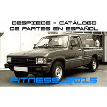 Manual Despiece Catalogo Toyota Hilux 1978 - 1984 Español