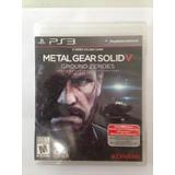Metal Gear Solid 5 Playstation 3 Ps3