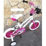 Bicicleta Bmx Beauty Red Aro 12 2019