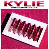 Kit 6 Labiales Kylie Edicion San Valentin Maquillaje Al Mayo