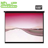 Pantalla Klipx 100 Para Proyector Manual Blanca